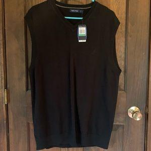 NWT Nautica V-neck sweater vest